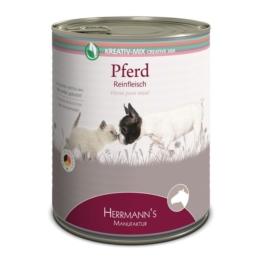 Herrmanns Hunde- und Katzen-Ergänzungsfutter 100% Pferd - 6x800g