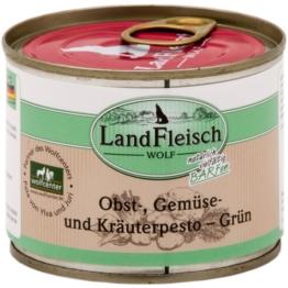 Landfleisch Dog Wolf Pesto Grün - 12x200g