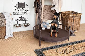 hundebett eisen nostalgie vintage fellnasen berlin. Black Bedroom Furniture Sets. Home Design Ideas