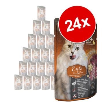 Sparpaket Leonardo Finest Selection Pouch 24 x 85 g - Kitten: Huhn pur