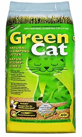 40 l GreenCat original Katzenstreu - 1