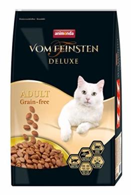 animonda Vom Feinsten Deluxe Adult Grain-Free Katzenfutter, Trockenfutter für erwachsene Katzen,  10 kg - 1