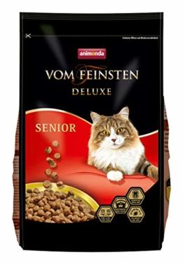 animonda vom Feinsten Deluxe Senior, Trockenfutter für ältere Katzen ab 7 Jahren, 1,75 kg - 1