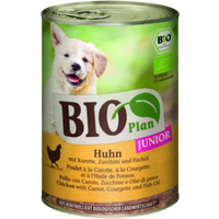 BioPlan Junior Huhn 6x400g Huhn mit Karotte