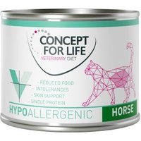 Concept for Life Veterinary Diet Hypoallergenic Pferd - 24 x 200 g