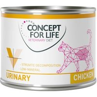 Concept for Life Veterinary Diet Urinary Huhn - 6 x 200 g