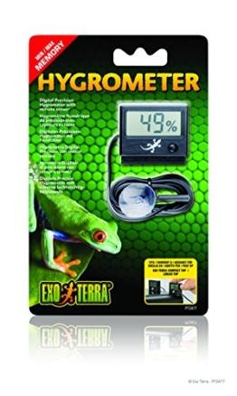 Exo Terra digitales Hygrometer mit Messfühler - 1