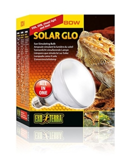 Exo Terra PT2334 Solar Glo - Sonnenlicht simulierende Lampe 80W - 1