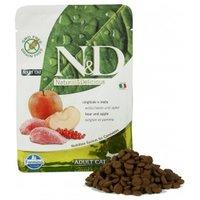 Farmina N&D Katzenfutter Wildschwein&Apfel Adult getreidefrei 300g