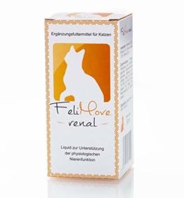 FeliMove renal (60 ml) Ergänzungsfuttermittel für Katzen zur Unterstützung der Nierenfunktion - 1
