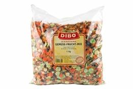 Gemüse-Frucht-Mix, 1kg-Beutel, Nahrungsergänzung als gesunde, natürliche Ernährung für Hunde von DIBO, Hundefutter, BARF, B.A.R.F. - 1