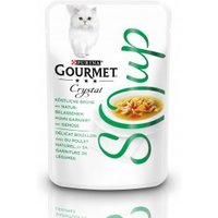GOURMET Crystal Soup Köstliche Brühe mit Huhn und Gemüse 40g