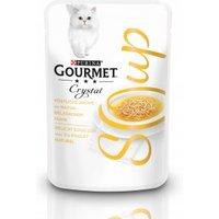 GOURMET Crystal Soup Köstliche Brühe mit naturbelassenem Huhn 40g