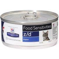 Hill's Prescription Diet z/d Food Sensitivities Katzenfutter Original 156g