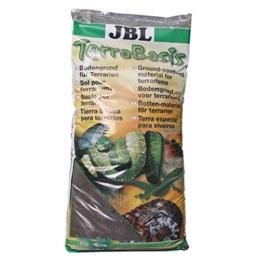 JBL TerraBasis 71012 Bodengrund für Regenwaldterrarien, Spezialerde ohne Düngezusatz, 20 l - 1