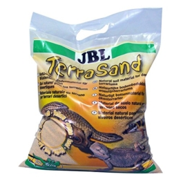 JBL TerraSand 71018 Bodengrund für Wüstenterrarien, Gelber sand, 7,5 kg - 1