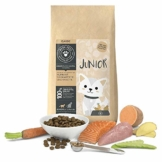 Junior Katzenfutter trocken 2 kg | Premium-Qualität | Huhn mit Süßkartoffel | Trockenfutter für junge Katzen mit 75% Fleisch- & Fischanteil, getreidefrei und ohne unnötige Zusätze - 1