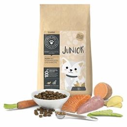 Junior Katzenfutter trocken 2 kg   Premium-Qualität   Huhn mit Süßkartoffel   Trockenfutter für junge Katzen mit 75% Fleisch- & Fischanteil, getreidefrei und ohne unnötige Zusätze - 1