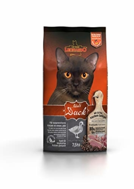 Leonardo Adult Duck [7,5kg] Katzenfutter   Trockenfutter für Katzen   Alleinfuttermittel für ausgewachsene Katzen Aller Rassen ab 1 Jahr - 1