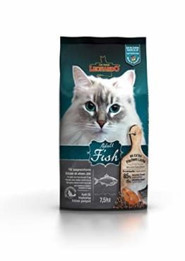 Leonardo Adult Fish [7,5kg] Katzenfutter | Trockenfutter für Katzen | Alleinfuttermittel für ausgewachsene Katzen Aller Rassen ab 1 Jahr - 1