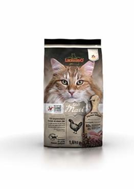Leonardo Adult GF Maxi [1,8kg] Katzenfutter | Getreidefreies Trockenfutter für Katzen | Alleinfuttermittel für große Katzenrassen ab 1 Jahr - 1