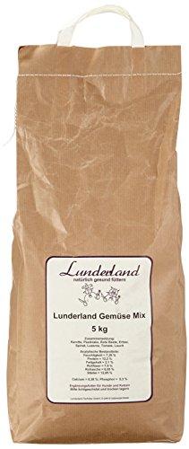 Lunderland - Gemüse Mix, getreidefrei, 5 kg, 1er Pack (1 x 5 kg) - 1