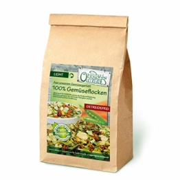 Original-Leckerlies: 100% Gemüse-Flocken, 2 kg getreidefreie Gemüseflocken, Hundeflocken, Hundefutter- Naturprodukt für Hunde, barfen - 1