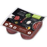 proCani BARF Lamm Menü - mit rote Beete und Reis - 5 x 2 x 400 g