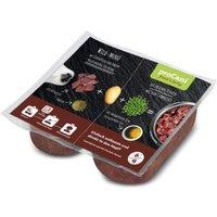 proCani BARF Wild Menü - mit Erbsen und Kartoffeln getreidefrei - 20 x 2 x 200 g