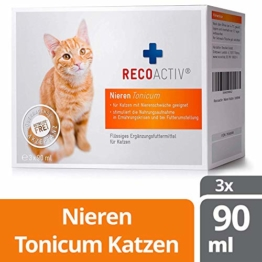 RECOACTIV® Nieren Tonicum für Katzen - Kurpackung 3x90 ml - 1