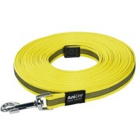 AniOne Schleppleine Perfect Grip gelb Gelb 15m