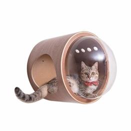 DYYTR Katzen Wandpark,handgefertigte Tiermöbel/Katzenbaum für die Wand,Katzenmöbel in vielen Ausführungen,zur Wandmontage - 1
