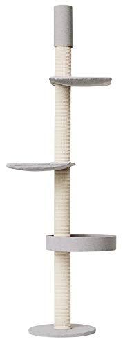 Kattens Designer-Kratzbaum Q55 Deckenspanner (versch. Größen)(231-246 cm) - 1