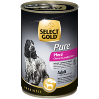 SELECT GOLD Pure Adult 6x400g Pferd
