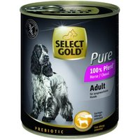SELECT GOLD Pure Adult 6x800g Pferd