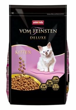 animonda Vom Feinsten Deluxe Kitten Katzenfutter, Trockenfutter für Katzen im Wachstum, Geflügel, 1,75 kg - 1