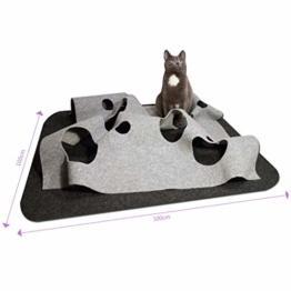 CatMountain - Katzenspielzeug und Kratzmatte - für intelligentes Spielen mit Deiner Katze - 1