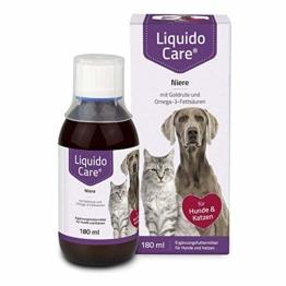 LiquidoCare Niere, 180 ml- Ergänzungsfuttermittel für Katzen zur zusätzlichen Zufuhr von essentiellen Nährstoffen und Flüssigkeit - 1