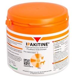 Vetoquinol Ipakitine Pulver 300g Dose - Ergänzungsfuttermittel für Katzen und Hunde zur Unterstützung der Nieren - 1