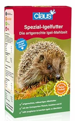 Claus Spezial-Igelfutter Inhalt 750 g - 1