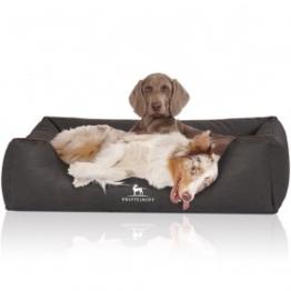 Knuffelwuff Hundebett Scottsdale schwarz XXXL: 155x105cm