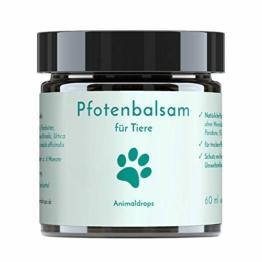Animaldrops PFOTENBALSAM - natürlicher Pfotenschutz, Pfotenpflege, mit Mandelöl, Sheabutter, Kokosöl - 1