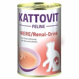 Finnern Kattovit Niere/Renal Drink | 12x 135ml Ergänzungsfutter Katze - 1