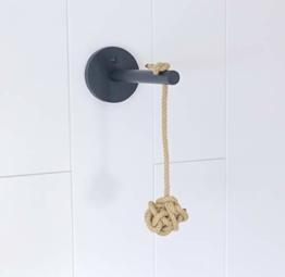 Jennys Tiershop Anthrazit! Katzen Wandpark, Handgefertigte Tiermöbel/Luxusmöbel, Katzenmöbel in Vielen Ausführungen, Kratzbaum/Katzenbaum für die Wand. Hier: Sisalspielzeug (3rb) - 1