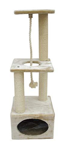 Kerbl Kratzbaum PLATIN PRO Höhe: 109 cm, beige - 1