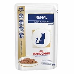 Royal Canin Vet Diet renal frischebeutel 48 x 85 g Chicken Katze - 1