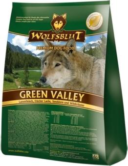 Wolfsblut   Green Valley   15 kg   Lamm und Lachs   Trockenfutter   Hundefutter   Getreidefrei - 1