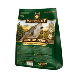 Wolfsblut   Hunters Pride   15 kg   Fasan, Ente und Kaninchen   Trockenfutter   Hundefutter   Getreidefrei - 1