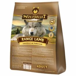 Wolfsblut   Range Lamb   15 kg   Lamm   Trockenfutter   Hundefutter   Getreidefrei - 1