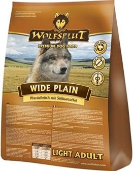 Wolfsblut   Wide Plain Light   15 kg   Pferd   Trockenfutter   Hundefutter   Getreidefrei - 1